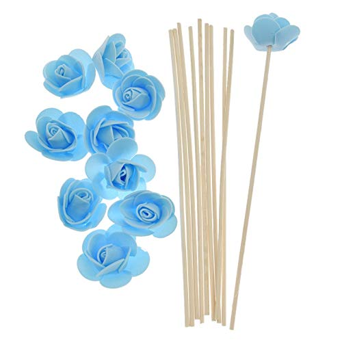 SeedWorld Reed Diffuser Sticks - 10pcs Artificial Flowers Fragrance Diffuser Replacement Sticks Rattan Refill for Incense Aromatherapy DIY Home Decoration 1 PCs by SeedWorld (Image #5)