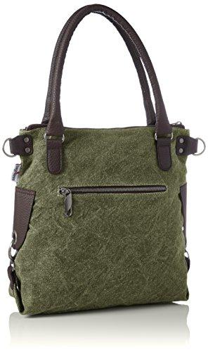 Anker Épaule Sacs washed Portés grün mini Vert Bags4less gZPwqxpnP