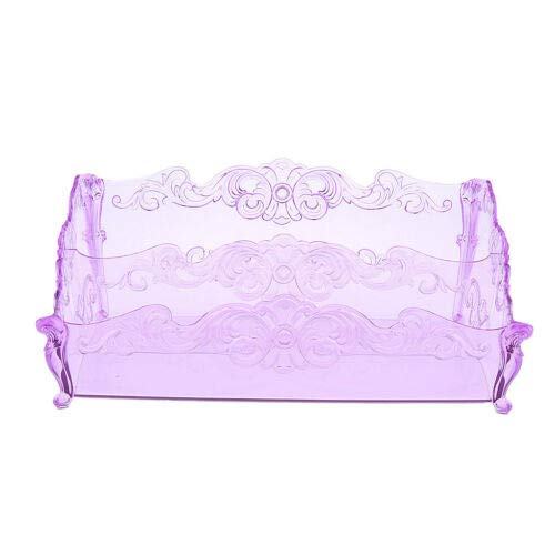 Premium Quality Clear Plastic Vanity Organizer - 2-Compartments (Color - ()