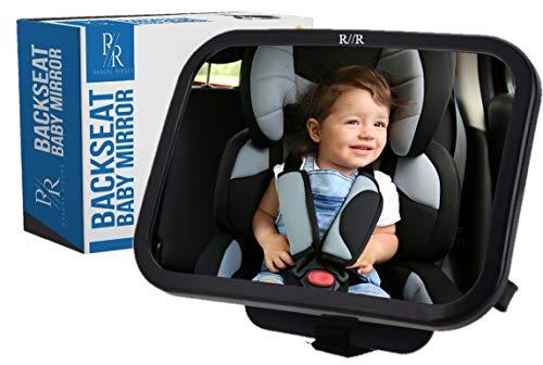 Baby Mirror Backseat Swivel Mounts Headrest Travel product image