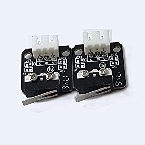 Luxnwatts 3D Prnter Accessory Limit Switch with Plug for Creality 3D Printer CR-10 10S S4 S5 Ender2 3Pin N/O N/C Control Easy to use Micro Switch (2PCS/LOT) from Luxnwatts