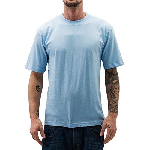 Dangerous DNGRS Uomo Maglieria/T-Shirt New York Style Long Tee Sky Blu S
