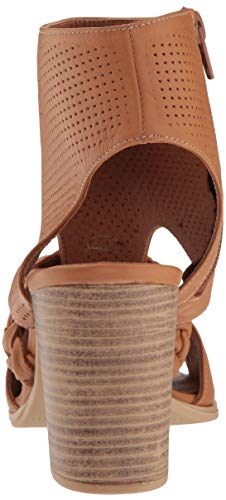 Farrah Women's Spring Step Heeled Camel Sandal ABqHTYa