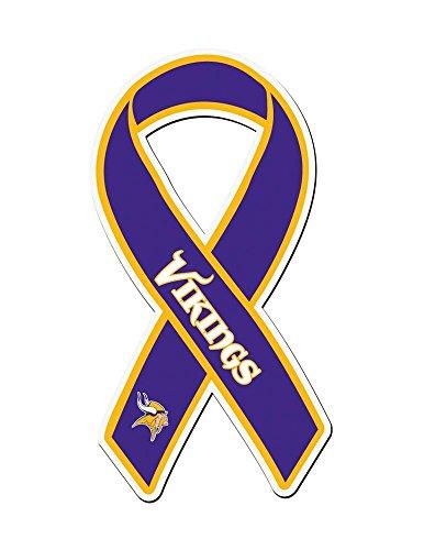 NFL Minnesota Vikings Ribbon Magnet
