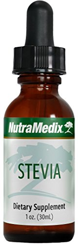 - NutraMedix Stevia - Liquid Stevia Whole Leaf Extract Drops (1 oz / 30 ml)
