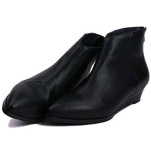 Autunno lavoro da 42 BLACK donne Stivali di Gli del Black iniziano 40 vera 8040FD banchetto delle talloni alti invernali stivali posto Stivali Caricamenti pelle Martin Bwn6qp07