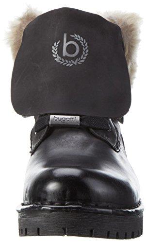 J853113 100 Botines Negro Bugatti Schwarz Mujer para BfzqxwSd