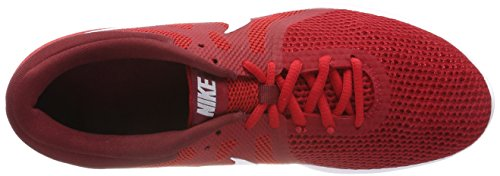 Team EU Chaussures Red 600 Compétition Rouge Red White Homme Running de NIKE Revolution Black 4 Gym wq7aa4