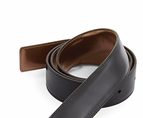 Genuine Italian Leather Belt Strap Replacement-Reversible-Fits Ferragamo-Custom (FerLar - Belt Italian Genuine