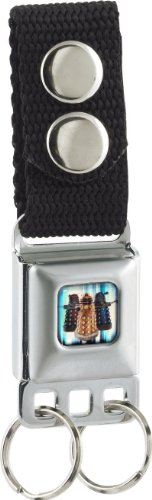 Doctor Who Daleks Seatbelt Keychain