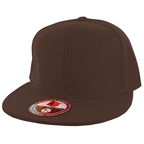 Plain PitBull Flat Fitted Sized Baseball Cap