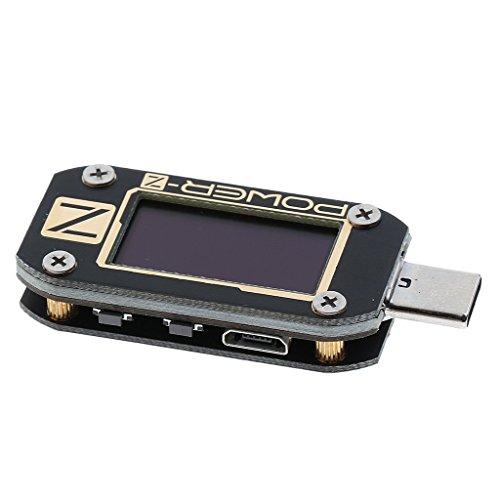 Baoblaze Type-C Power Meter Tester Digital Multimeter USB Load Current Tester Voltage Detector PD 2.0/3.0 QC by Baoblaze