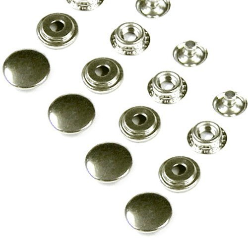 www.easygraphic.co.uk 100 Sets 15mm Heavy Duty Poppers Colour, Nickel Free. Snap Fastener, Press Studs. - Shop.co.uk