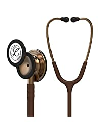3M Littmann Estetoscopio Classic III, Tubo Color Chocolate Acabado Color Cobre, 69 cm (Modelo 5809)