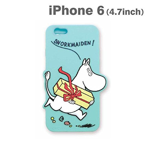 new concept 15ed4 19130 Amazon.com: Moomin Character Shaped Silicone Case for iPhone 6 ...