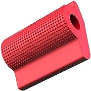 Almofada universal para motocicleta, capa para alavanca de câmbio de motocicleta para proteger seus sapatos/bo