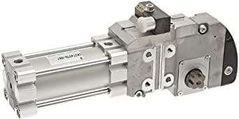 SMC CKZT Series  Power Clamp Air Cylinder, Compact, Double Acting, Turck Switch, Cushioned