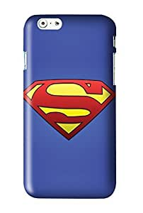 Superman Man of Steel Snap on Plastic Case Cover Compatible with Apple iPhone 6 Plus 6+