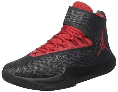 Nike Men's Jordan Fly Unlimited Basketball Shoe Anthracite/ Gym Red-Black 13 by NIKE