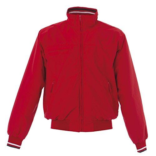 Vita E Jrc Tasche Molla Lavoro Giacca Da Giubbino Con Rosso Usa In Uomo Impermeabile qZ8pnza