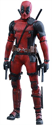 Marvel Comics Movie Masterpiece Deadpool 1/6 Scale Plastic Painted Figure action figure