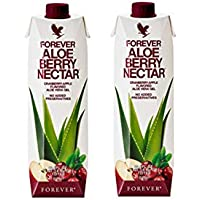 Forever Living Aloe Berry Nectar 1 litro 2 botellas