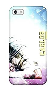 For Iphone 5/5s Tpu Phone Case Cover(carlos Tevez)
