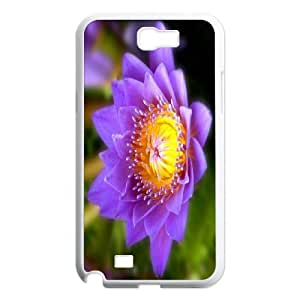 Custom Case Water lilies flower For Samsung Galaxy Note 2 N7100 Q3V742469