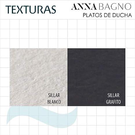 plato ducha mod anna textura sillar color blanco