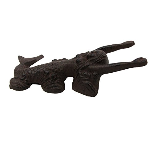 TG,LLC Cast Iron Antique Style Mermaid Cowboy Boot Jack Puller Shoe Remover Beach Decor