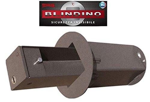 CASSAFORTE BLINDINO CASSETTA SICUREZZA INVISIBILE CORAZZATA - VARIE MISURE DISPONIBILI, Diametro foro parete 140 mm