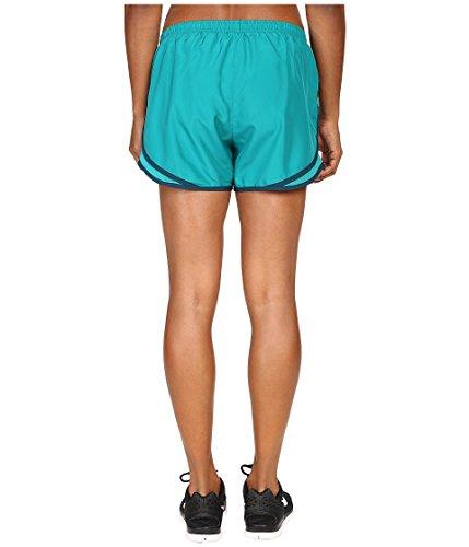 Nike Kvinnor Tempo Kort Rio Blågrön / Rio Blågrön / Wolf Grå