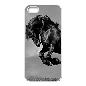 Custom Colorful Case for Iphone 5,5S, Galloping Horse Cover Case - HL-R670139