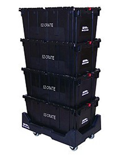 Office Crate Moving System Document Storage Utility Dolly Cart Lot Of 6 NEW by Bentley's Display