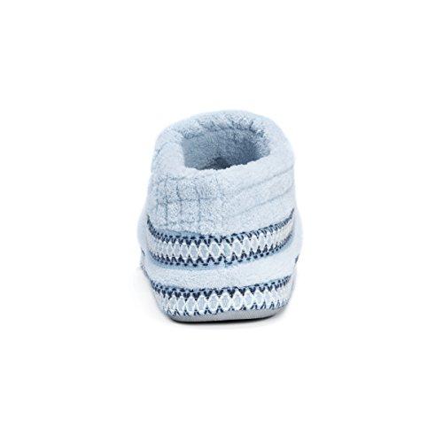 Light Micro Rita Women's LUKS Chenille Foot MUK Slippers Full Blue qw8aTnTWF