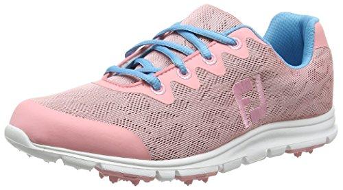 FootJoy Ladies EnJoy Golf Shoes Pink Rose 9.5 Medium Closeout