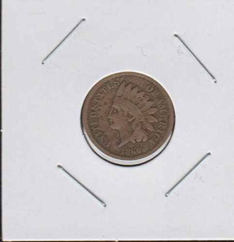 1860 Indian Head (1859-1909) Penny Very Fine