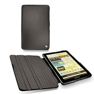 Funda de piel Samsung GT-P6800 Galaxy Tab 7.7 - Perpétuelle - Noir