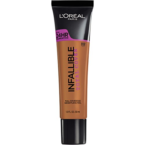 L'Oréal Paris Infallible Total Cover Foundation, Cocoa 1 Ounce