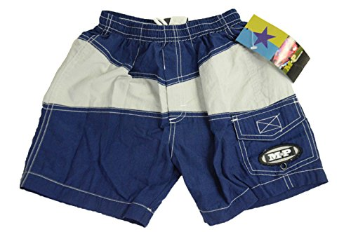 Metropolitan Prairie Baby Boys Swim Trunks in Navy, 3T
