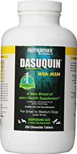 Nutramax Dasuquin with MSM Chewables, Small/Medium Dog, 250 Count