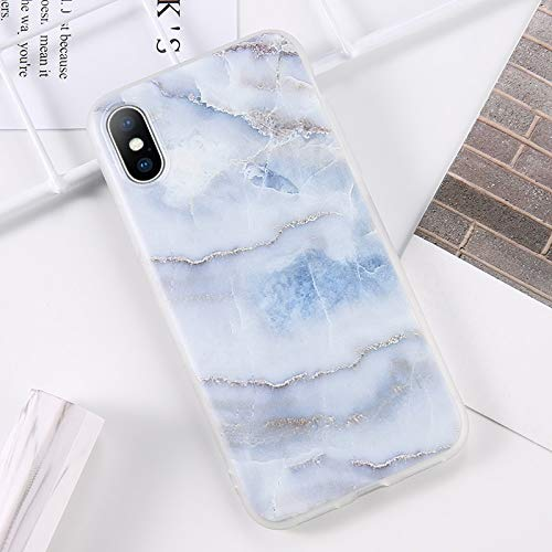 Fitted Cases - Glitter Powder Marble Phone Case For Iphone 7 Plus Case For Iphone X Xs Max Xr 8 7 6 6s Plus Silicone Soft Tpu Back Cover - For iPhone 7_AC4866 - Pack Cat Kedavra Pouch J Holo -