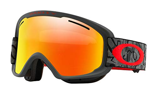 Oakley O Frame XM 2.0 Snow Goggles Camo Vine Night with Fire Iridium and Persimmon Lens