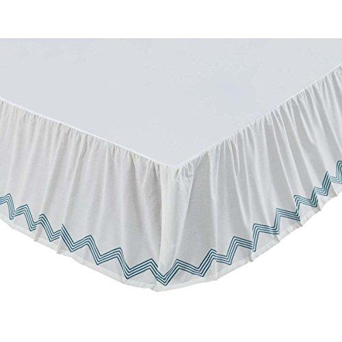 VHC Brands 29701 Laguna Queen Bed Skirt 60x80x16