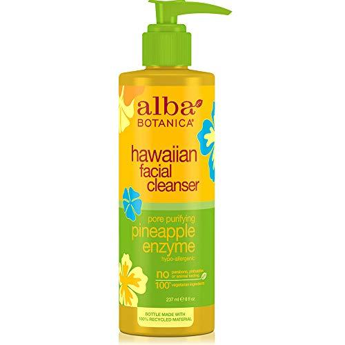- Alba Botanica Hawaiian Facial Cleanser, Pineapple Enzyme 8 oz (Pack of 5)