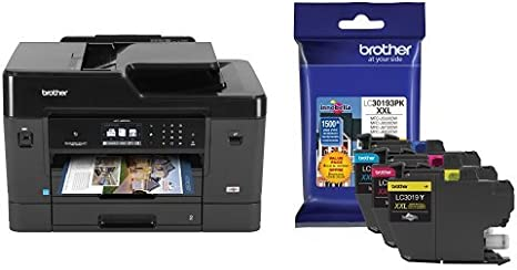 Amazon.com: Brother impresora mfcj6930dw inalámbrica a color ...