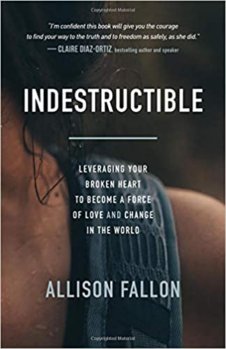 The Indestructible: Leveraging Your Broken Heart to Become a Force of Love & Change in the World by Allison Fallon travel product recommended by Allison Fallon on Pretty Progressive.