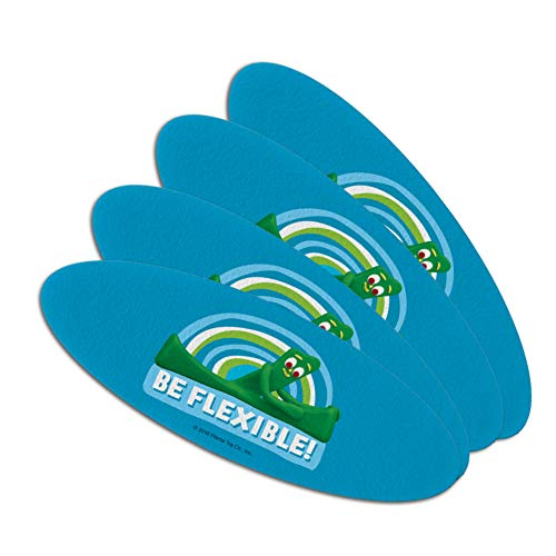 Gumby Be Flexible Stretching Yoga Double-Sided Oval Nail Fil