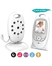 COLORWAY Babyphone Wireless Camera - Babyphone ohne Wifi-LCD-Bildschirm Baby-Uhr-Nachtsicht