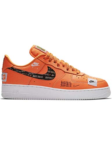 Force 001 Scarpe 1 Total Orange Black White Ginnastica Multicolore JDI Air NIKE Orange Uomo Total Basse '07 Prm da xwq5U5fYC